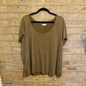 Olive Green Urban Outfitters Tee